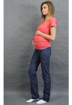 Blugi gravide, albastri