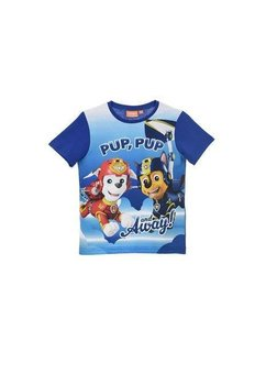 Tricou, albastru, Pup, pup and away