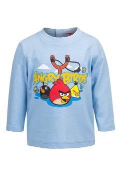 Bluza bebe, albastra, Angry Birds