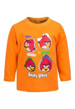 Bluza bebe, portocalie, Angry Birds