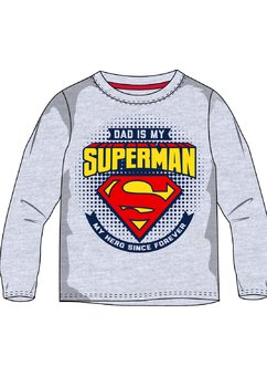 Bluza, Dad is my superman, gri