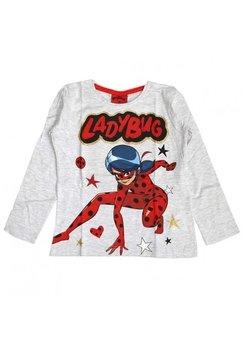 Bluza fete, Ladybug, gri