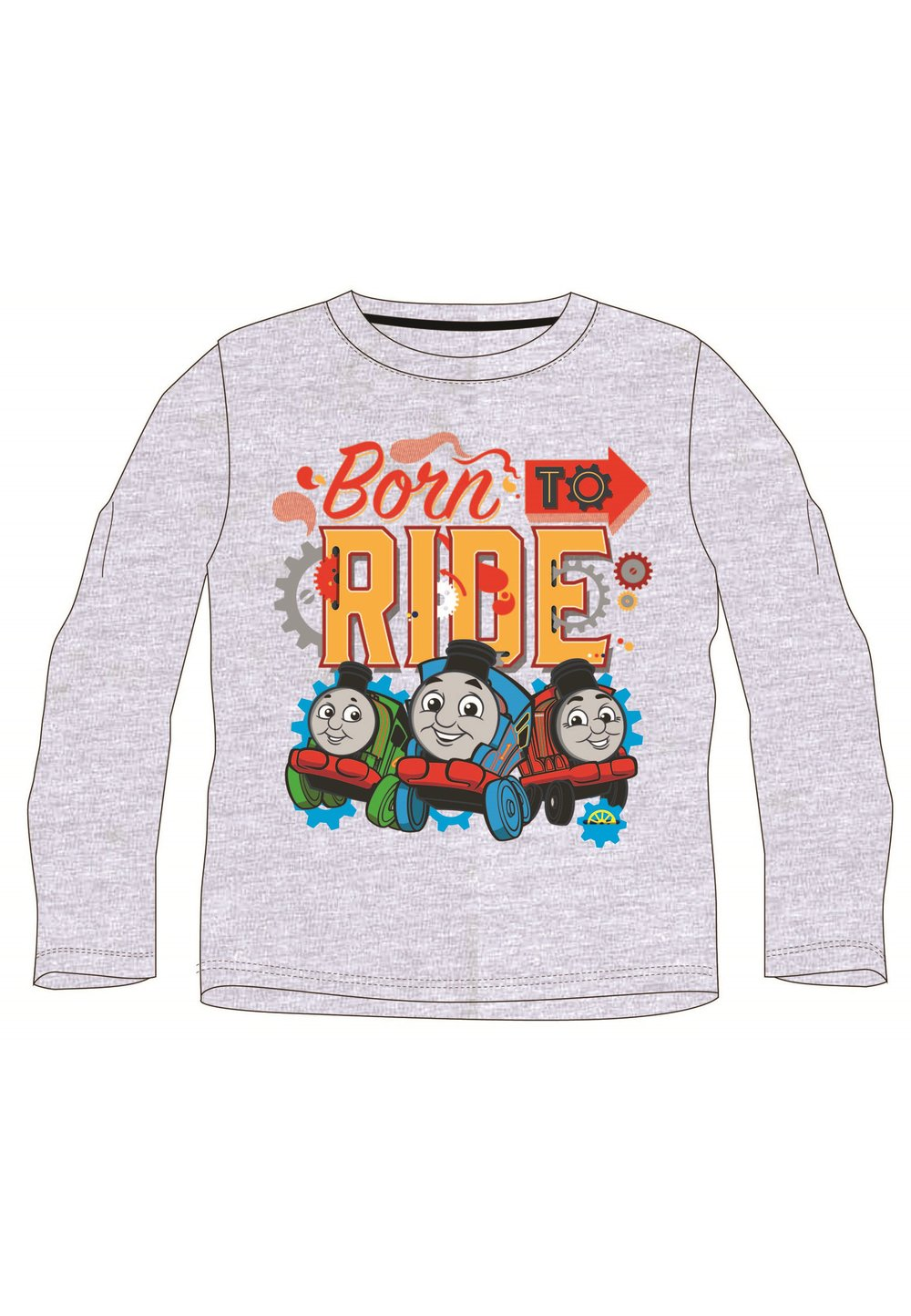 Bluza Gri, Born To Ride