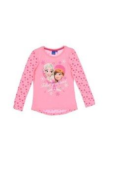 Bluza, roz cu inimioare, Frozen