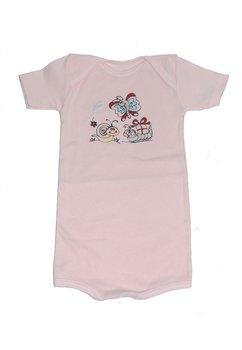 Body short, roz cu fluture, 18 luni