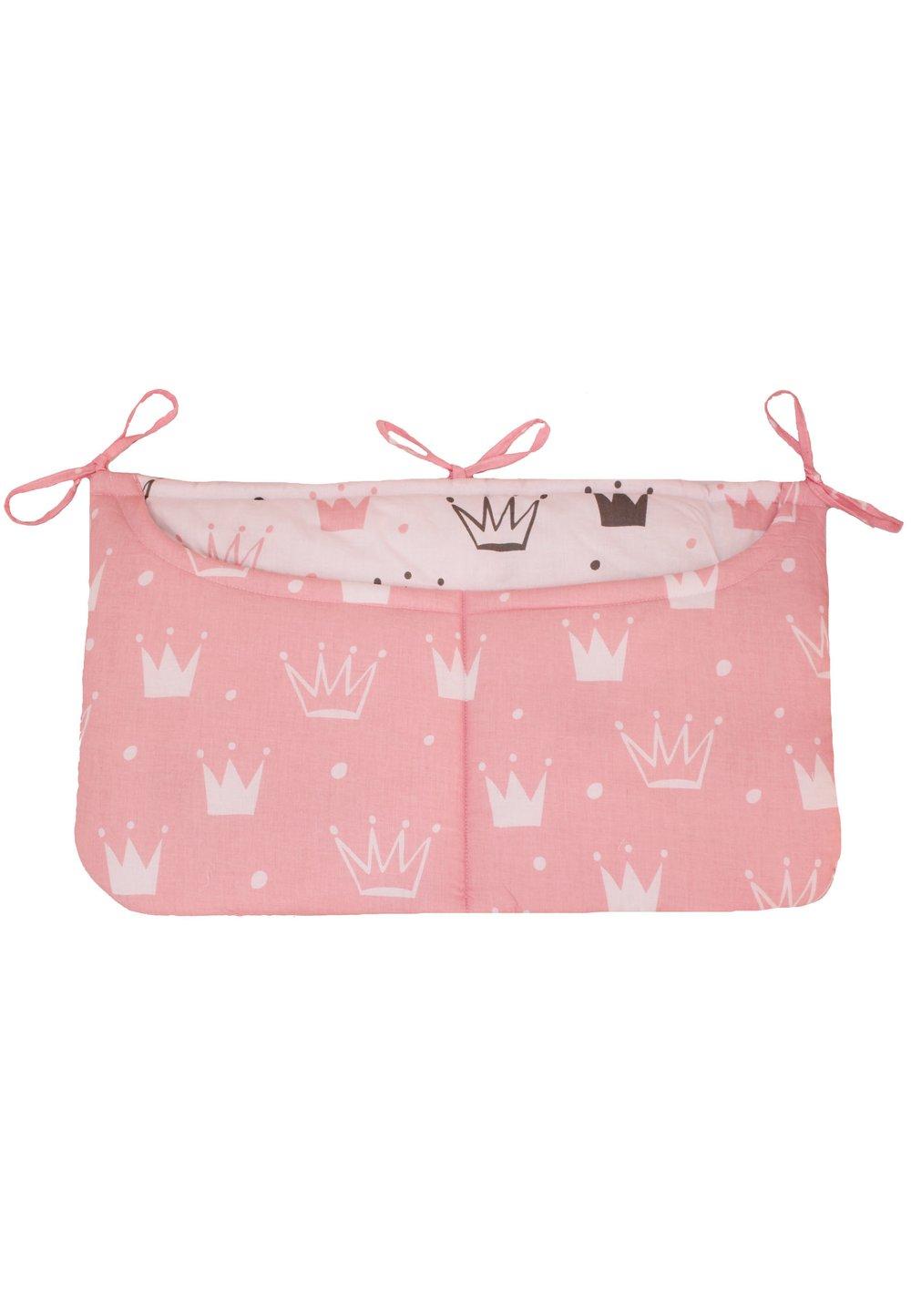 Buzunar patut, coronite Princess roz, 60 x 40 imagine