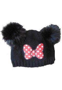 Caciula Minnie Mouse, neagra cu buline