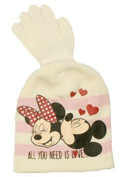 Caciula si manusi, Minnie si Mickey, ivory