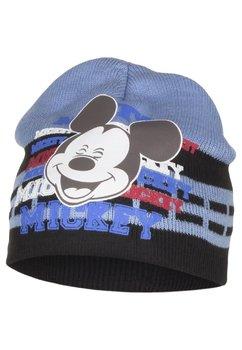 Caciula tip fes, Mickey, albastru cu maro