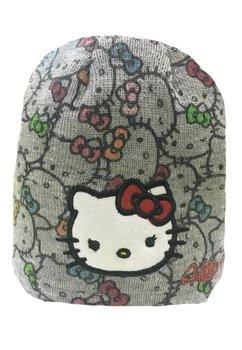 Caciula tricotata Hello Kitty gri