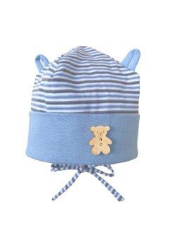 Caciulita, Tedy, albastra cu dungi