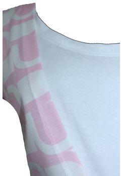 Camasa pentru alaptat, Eva, roz cu alb