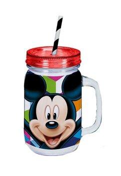 Cana cu pai, Mickey Mouse, rosu cu dungi
