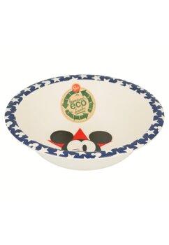 Castronel, din fibra de bambus, Mickey Mouse, bluemarin
