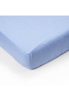 Cearceaf bumbac, albastru, 120 X 60 cm