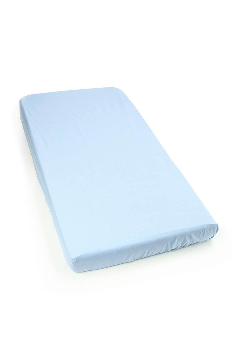 Cearceaf bumbac, albastru, 140 x 70 cm imagine