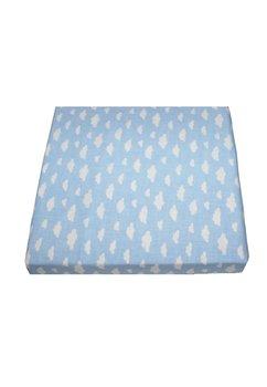 Cearceaf patut, norisori albastri, 120x60cm
