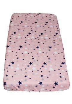 Cearceaf patut, stelutele roz, 120x60cm