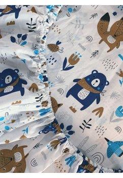 Cearceaf patut, Ursuletul cu esarfa, 120x60 cm