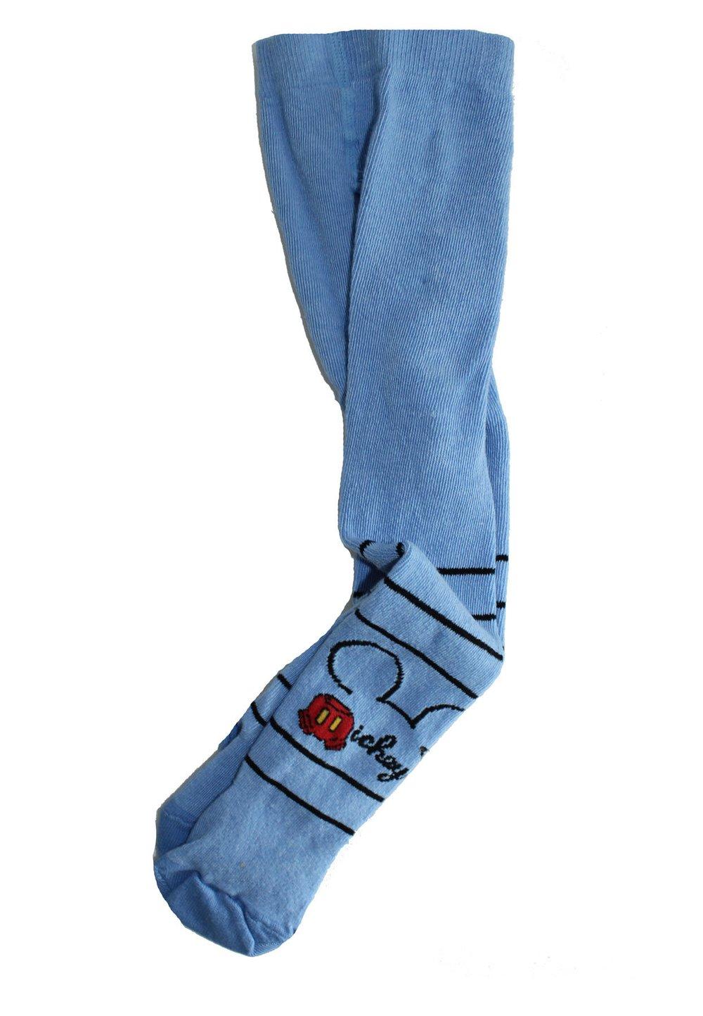 Ciorapi cu chilot bebe, Mickey Mouse, albastri imagine