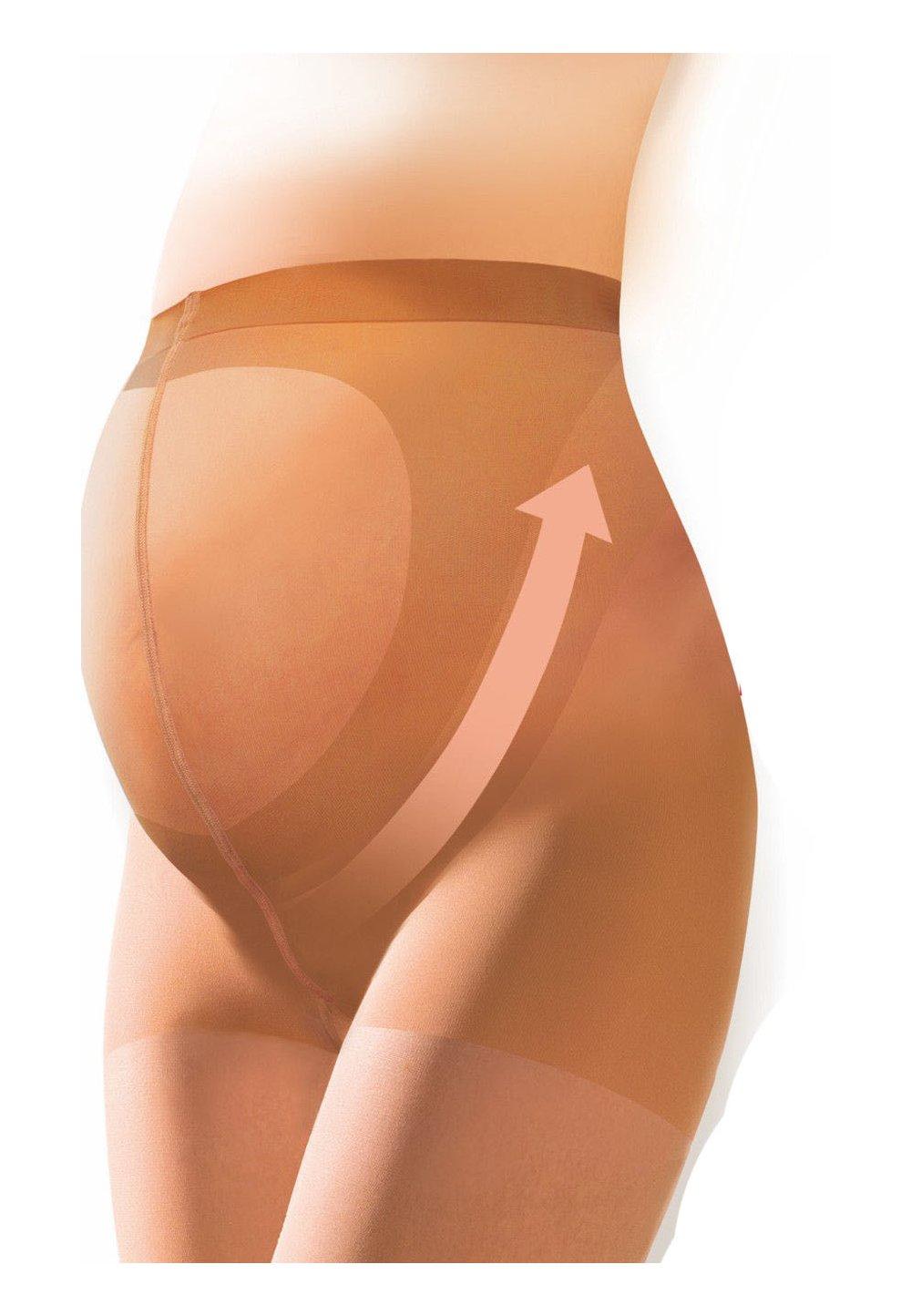 Ciorapi cu chilot gravide,bej, 40 Den imagine