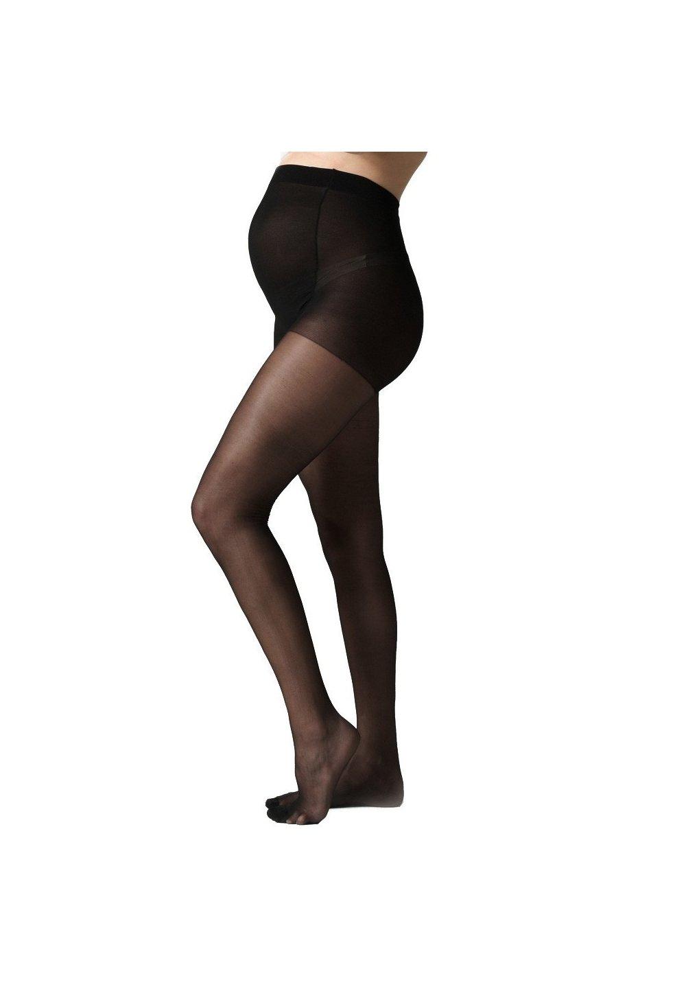 Ciorapi cu chilot gravide,negri, 40 Den imagine