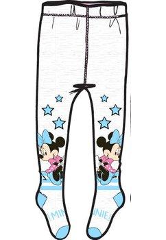 Ciorapi cu chilot, Minnie, albi cu stelute albastre
