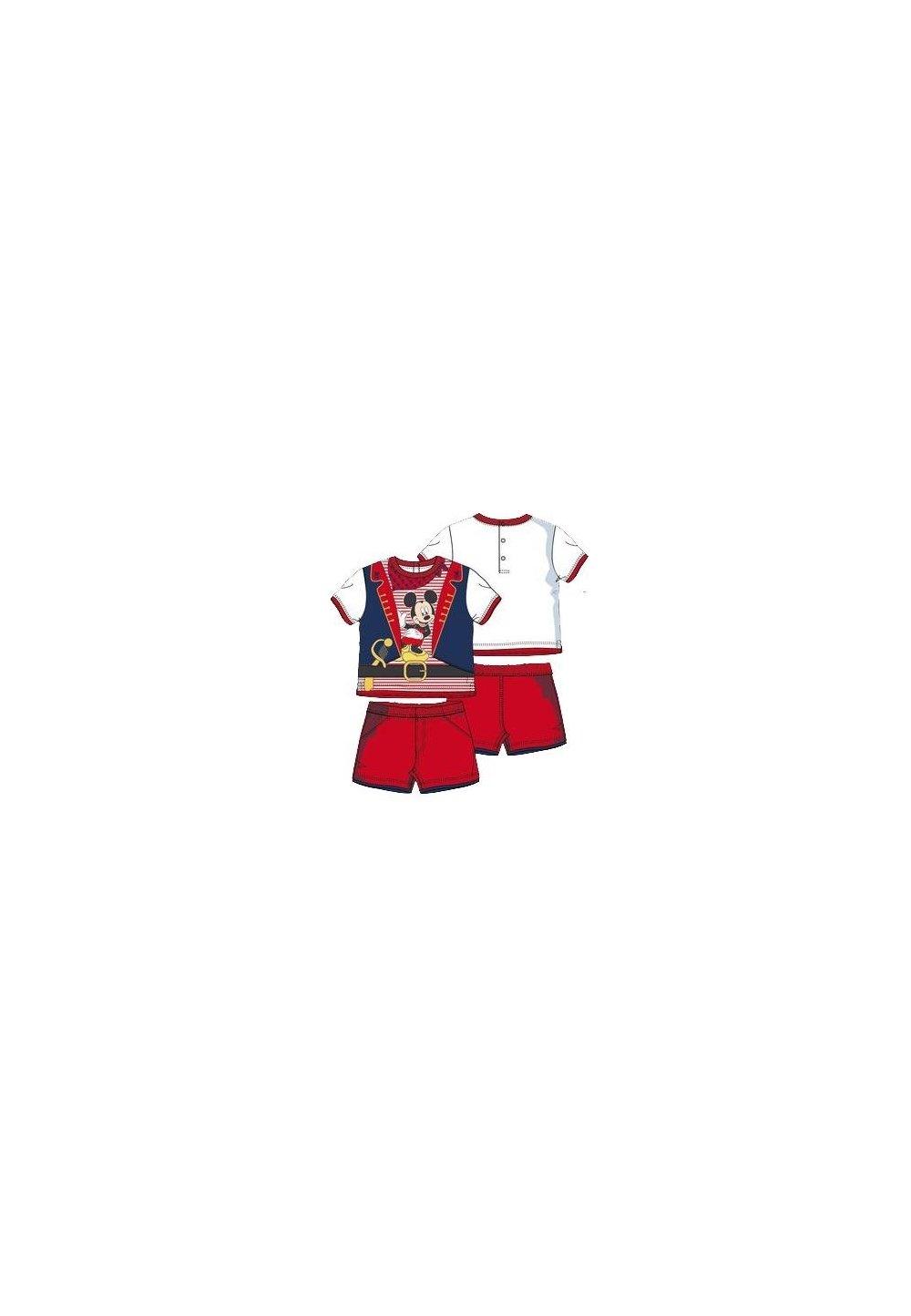 Compleu Rosu Bebe Mickey 7602