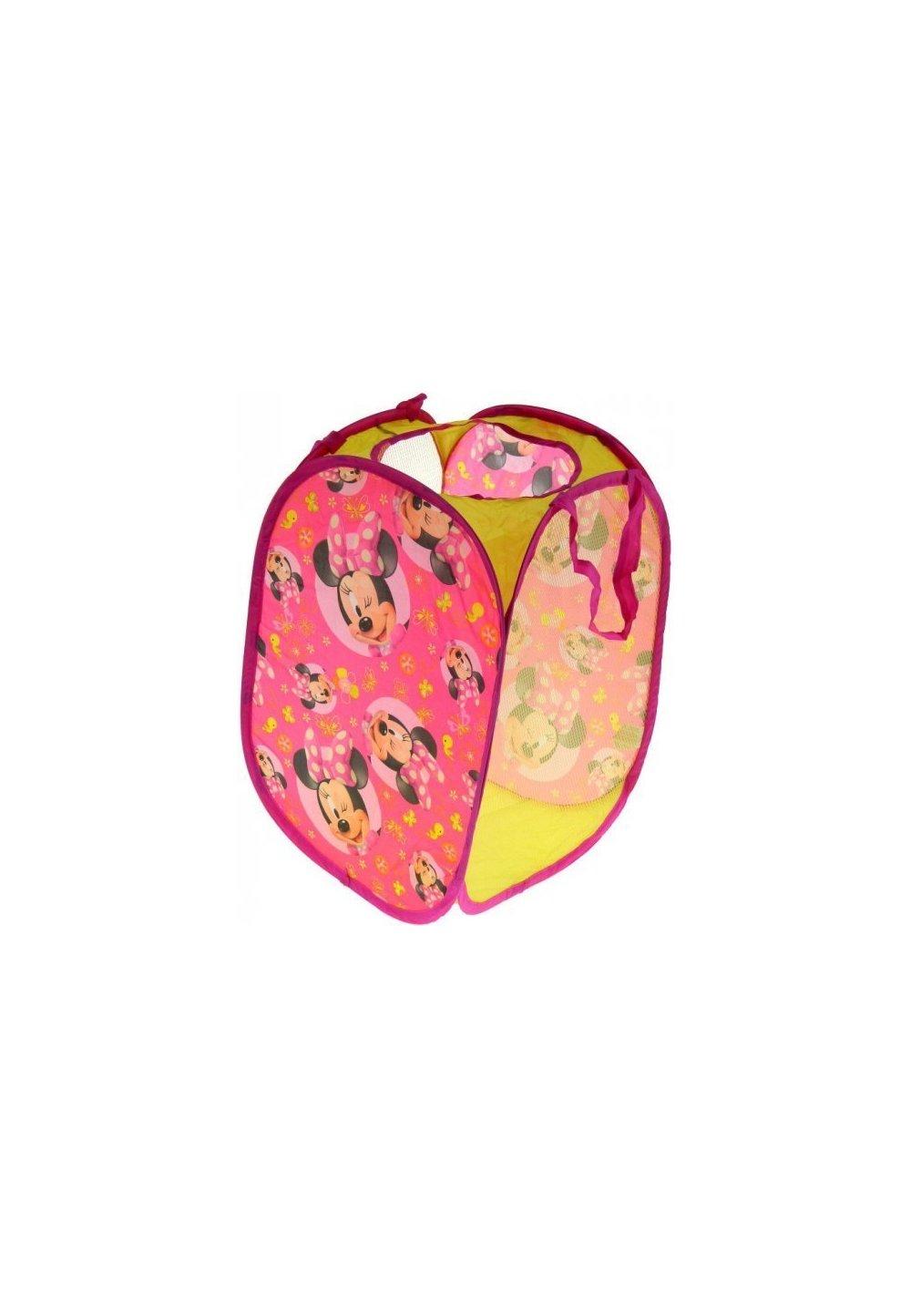 Cos pentru jucarii, Minnie Mouse, roz imagine