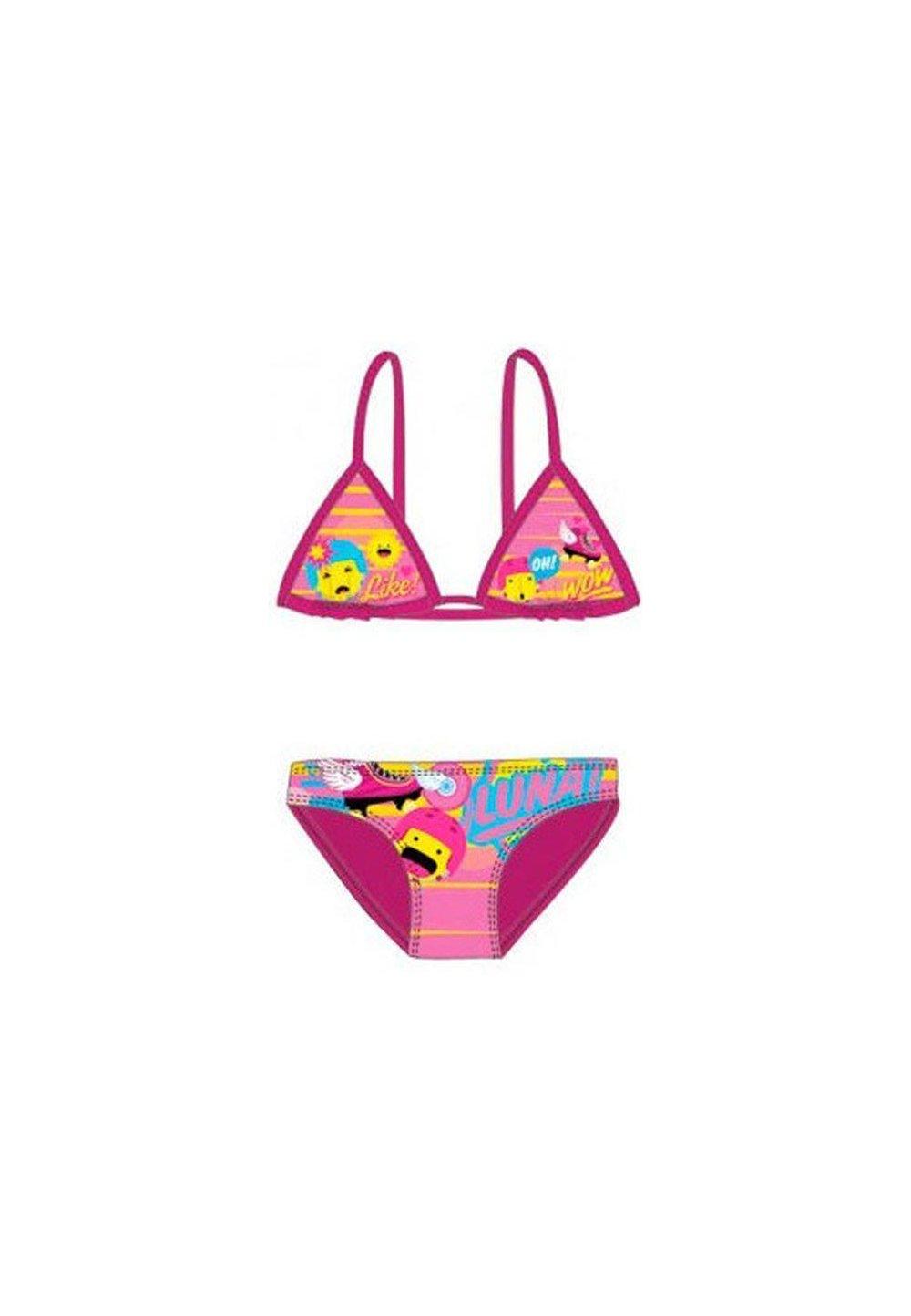Costum de baie, 2piese, Soy Luna, roz inchis imagine