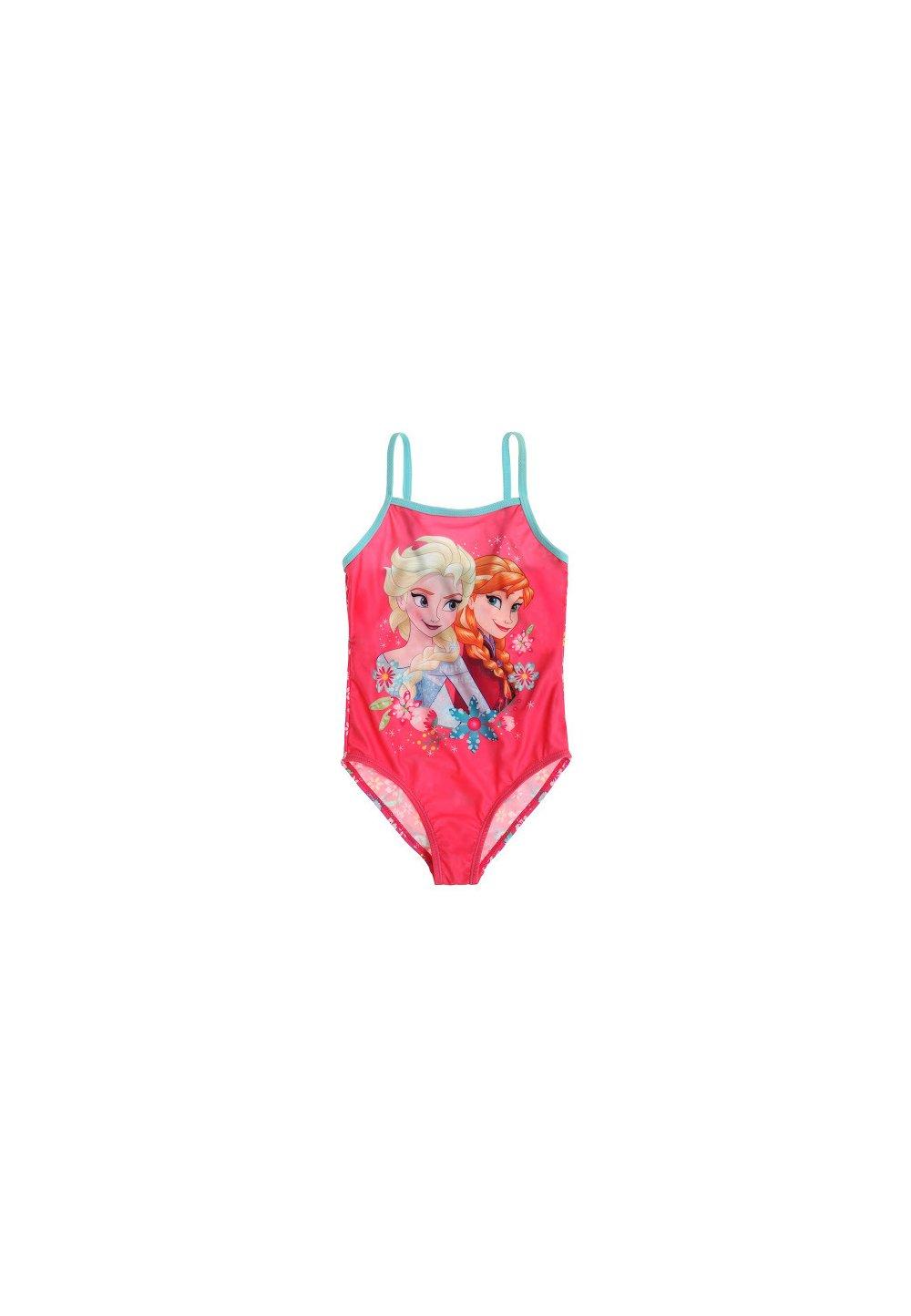 Costum de baie intreg Frozen roz inchis imagine