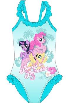 Costum de baie, Ponies in paradise, turcoaz