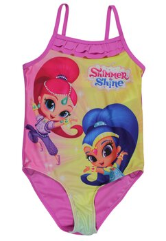 Costum de baie, Shimmer si Shine, roz