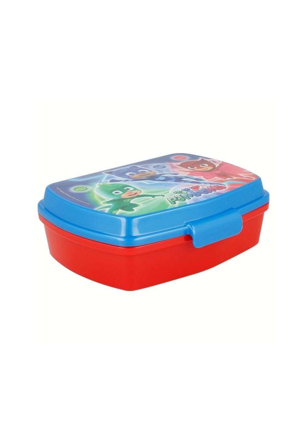 Cutie alimentara, rosu cu albastru, Eroii in pijama imagine