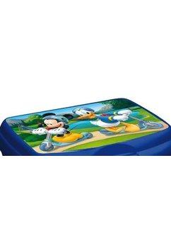 Cutie alimentara, albastra, Mickey Mouse