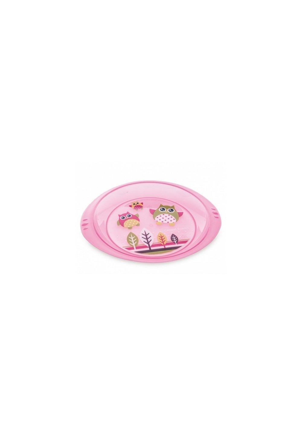 Farfurie bufnita, roz imagine