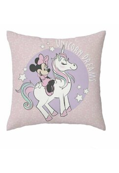 Fata perna, Minnie Unicorn Dreams, roz, 40x40 cm