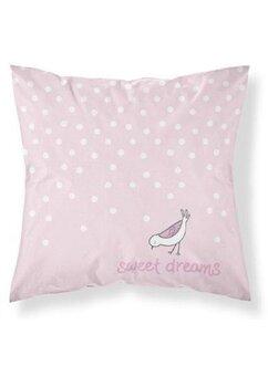 Fata perna, Sweet dreams, roz, 40x40 cm