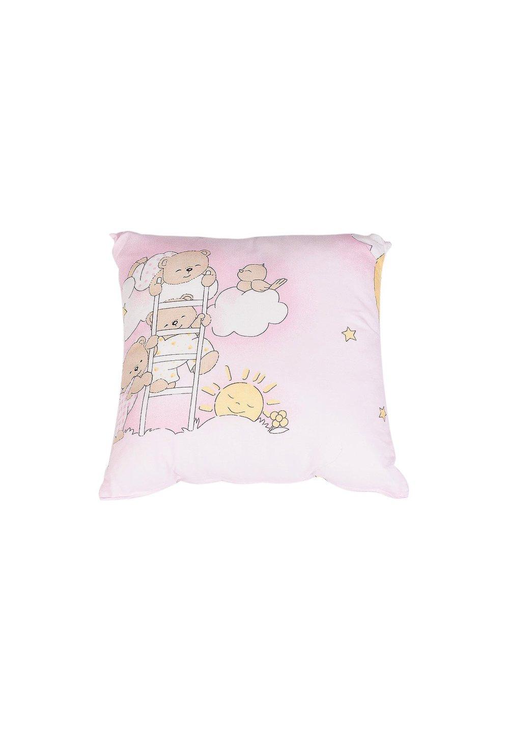 Fata perna, ursuletul somnoros, roz imagine