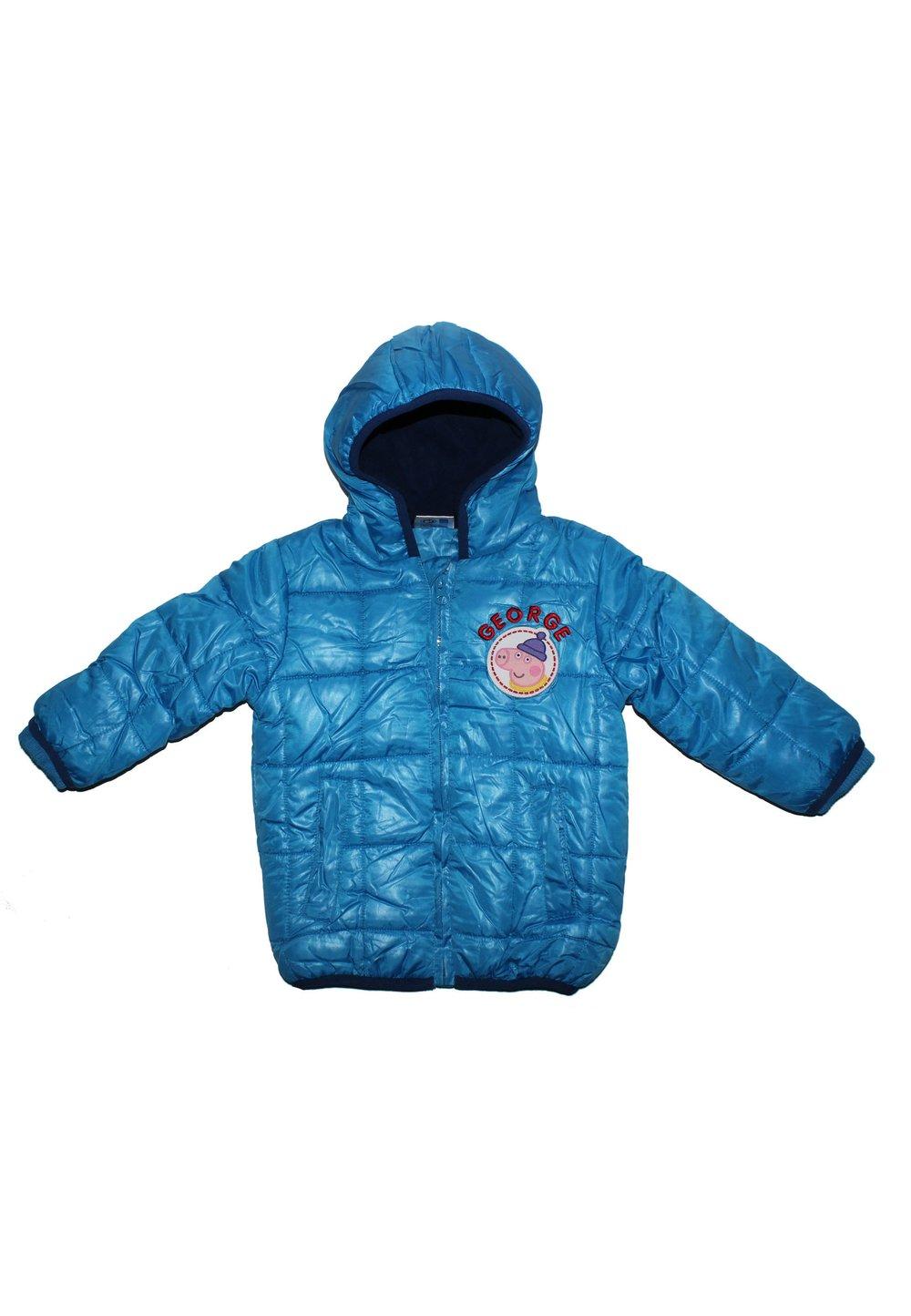 Geaca bebe Peppa, albastra imagine