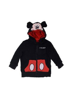 Geaca fleece, Mickey, neagra