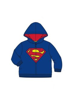Geaca fleece, Superman, albastra