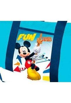 Geanta sport, albastra, Mickey Fun