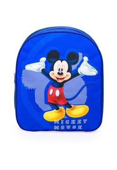 Ghiozdan Mickey Mouse, albastru cu bluemarin, 30 x 10 x 26 cm