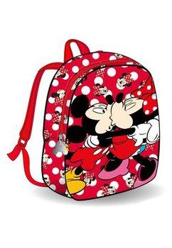 Ghiozdan, Minnie si Mickey, rosu, 27 x 7 x 22 cm.