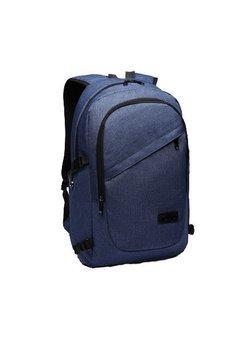Ghiozdan pentru laptop cu mufa usb, albastru