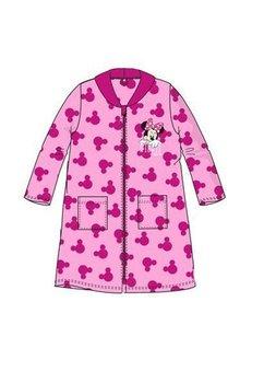 Halat de baie, cu fermoar, Minnie Mouse, roz
