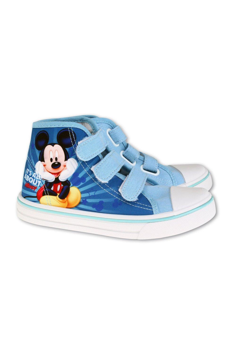 Incaltaminte panza, All about Mickey, albastru deschis imagine