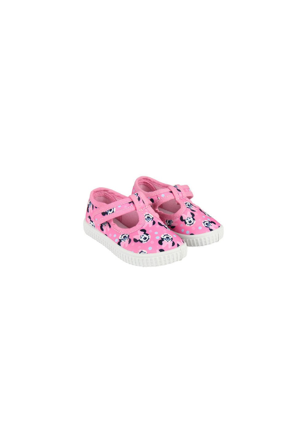 Incaltaminte panza, roz cu buline, Minnie Mouse imagine