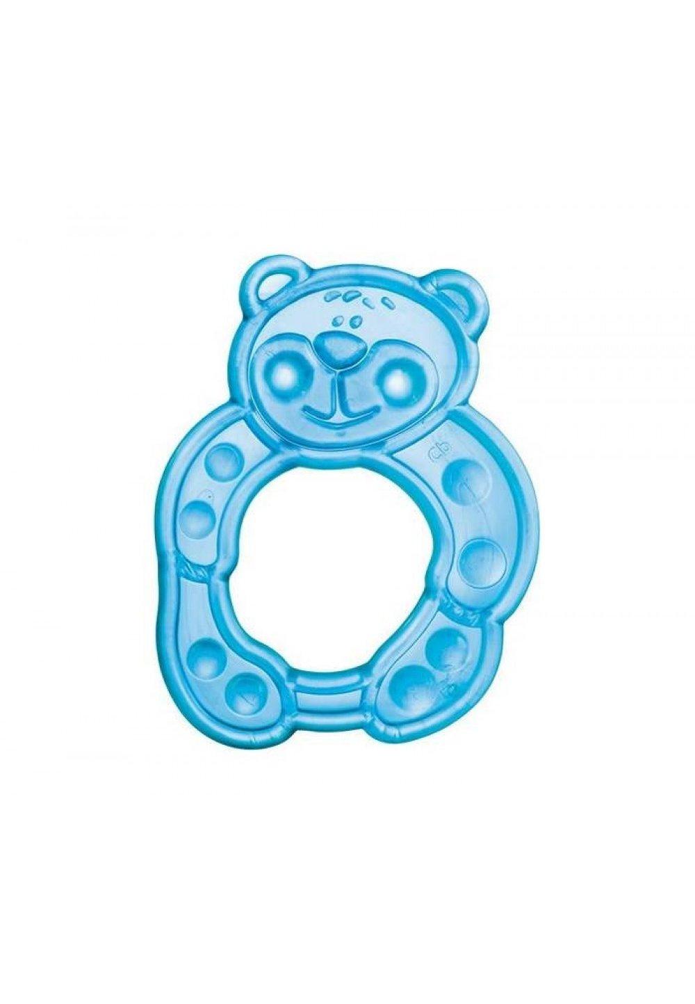 Inel gingival soft, ursulet albastru imagine
